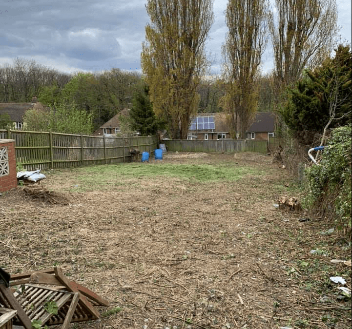 Large overgrown garden clearance, Chatham Kent
