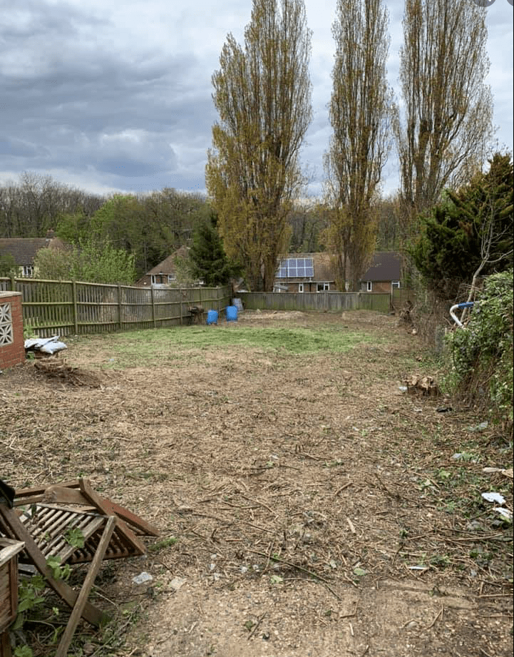 Garden clearance in Chatham Kent