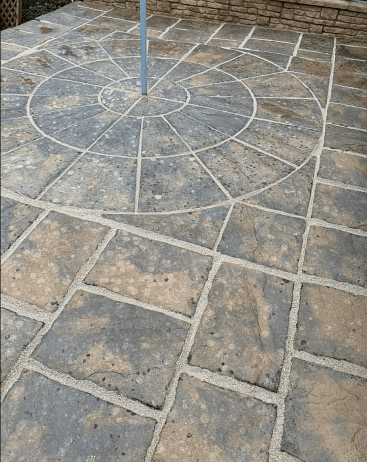 Patio renovation, patio cleaning and repointing project completed in Chatham Kent